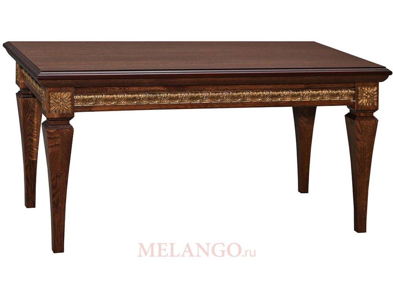 Журнальный стол «Милана 05» П299.05 (черешня с золочением)