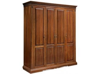 Шкаф для одежды «Милана 02/1» П294.24 (черешня)