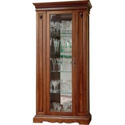 Шкаф-витрина для гостиной «Милана 8» П265.08-01 (черешня)