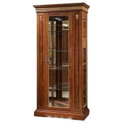 Шкаф-витрина для гостиной «Милана 8» П265.08 (черешня с золочением)