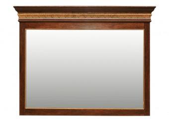 Зеркало настенное «Милана 9» П265.09 (черешня с золочением)