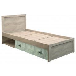 Односпальная кровать Дизель 90/D2 энигма с выдвижным ящиком