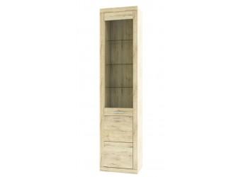 Шкаф-витрина для посуды Оскар 1D1V
