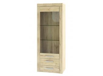 Шкаф-витрина для посуды Оскар 1V2SL