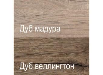 Шкаф-пенал Дизель 1D1S/D1 дуб веллингтон