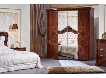 Шкаф 4-х дверный Аделаида