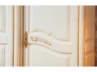 Шкаф 5-х дверный Федерика (крем)