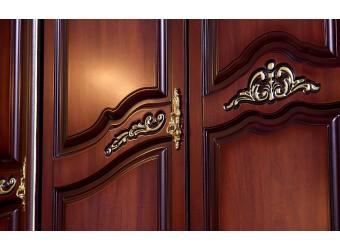 Шкаф 5-х дверный Федерика (орех фарина)