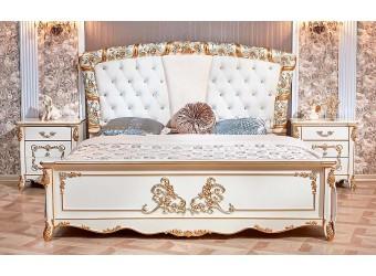 Спальня Фиона (крем) 5-х дверный шкаф