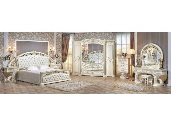 Спальня Латифа (крем) 6-и дверный шкаф