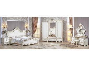 Спальня Медея (крем) 4-х дверный шкаф