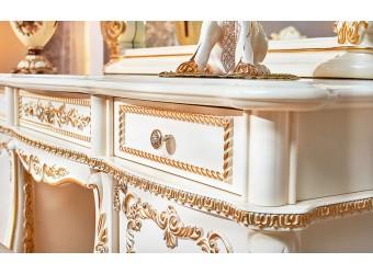 Туалетный столик с зеркалом Монреаль (крем)