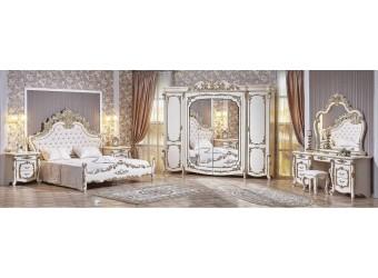 Спальня Венеция (крем) 6-х дверный шкаф