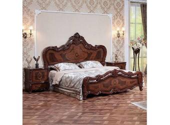 Спальня Виктория (орех фарина) 4-х дверный шкаф