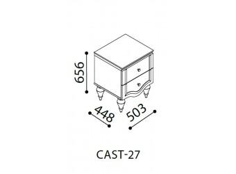 Прикроватная тумба Кастелло CAST-27