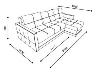 Угловой диван-кровать LYON (Лион) LYON-01
