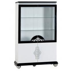 Двухстворчатый шкаф витрина для посуды в гостиную Диана DIAN-13