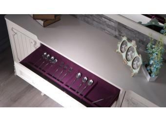Комод для посуды в гостиную Романс RMNC-10