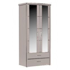 Двухстворчатый шкаф Мира MIRA-22 белый