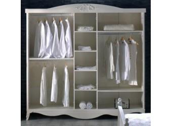 Пятистворчатый шкаф для одежды Романс RMNC-33