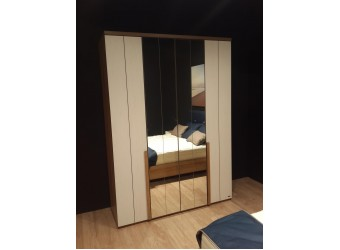Четырехстворчатый шкаф для одежды SANTINO SNTO-20