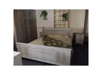 Двуспальная кровать Доминика БМ-2120-01 (белый воск) 1800 мм