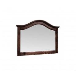Настенное зеркало Лотос сосна (брашированный мокко)