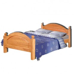 Односпальная кровать Лотос сосна Б-1089-05 (искусственное старение)