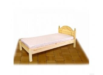 Односпальная кровать Лотос сосна Б-1089-08 (натуральная сосна)