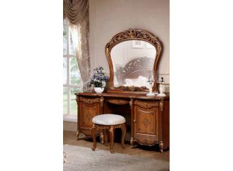 Туалетный столик с зеркалом Аллегро (орех)