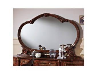 Зеркало для комода Роза (могано)