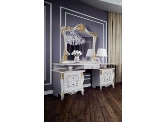 Туалетный столик с зеркалом Джоконда (слоновая кость)