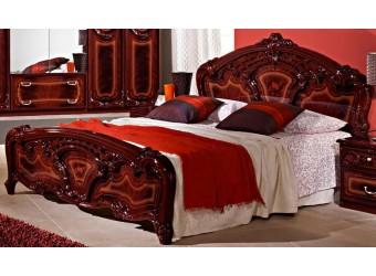 Двуспальная кровать Роза (могано)