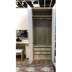 Шкаф двустворчатый с зеркалами Римини 102.620.з2