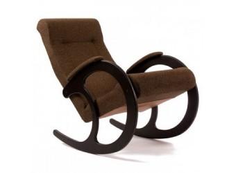 Кресло-качалка Комфорт № 3 из дерева с ортопедической спинкой сборно-разборное