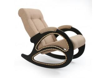 Кресло-качалка Комфорт № 4 из дерева сборно-разборное