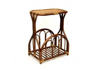 Столик с подставкой для газет Classic Rattan 13/14 из ротанга