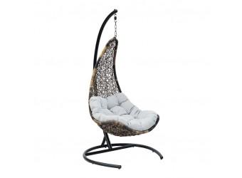 Подвесное кресло Wind Flying Rattan из искусственного ротанга сборно-разборное