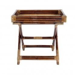 Кофейный столик Classic Rattan 25/06 из натурального ротанга складной