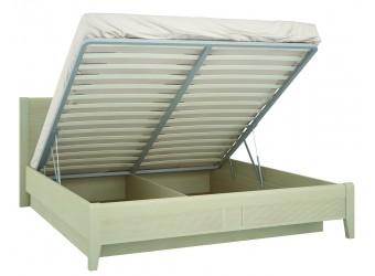 Кровать двуспальная 1400 с подъемным механизмом Сиерра(светлый) СИ-801.27