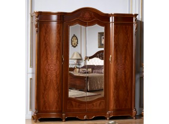 Четырехстворчатый шкаф для одежды Бриджида КА-ШК