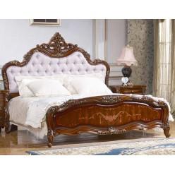 Двуспальная кровать Магдалена КА-ДК орех