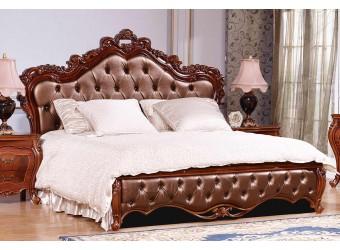 Двуспальная кровать Мона Лиза КА-ДК (орех)