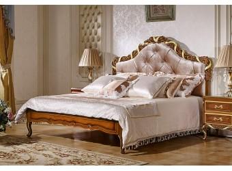 Двуспальная кровать Виттория КА-ДК орех