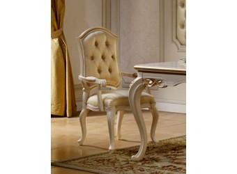 Обеденный стул для гостиной с подлокотниками Бьянка КА-СОП
