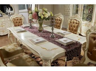 Обеденный стол Магдалена КА-ОС слоновая кость