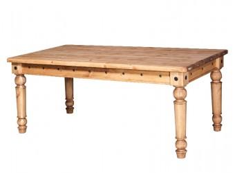 Обеденный стол Викинг GL-05 (искусственное старение)