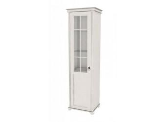 Шкаф одностворчатый стеклянный (полки ЛДСП) Амели ЛД 642.043(040/060)