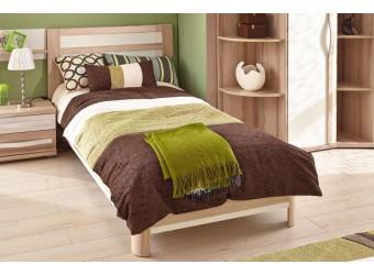 Кровать 900 со спинкой Марта