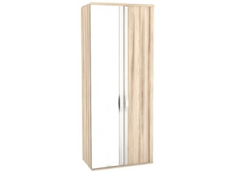 Шкаф двустворчатый с зеркалом в спальню Марта ЛД 636.024